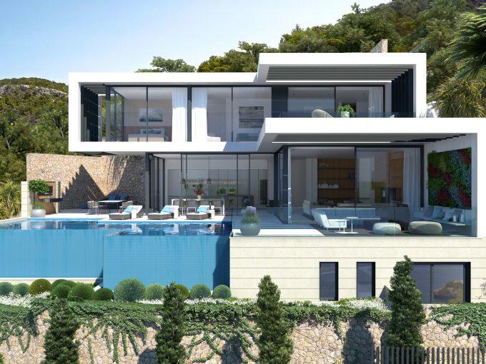 Portal Inmobiliario de Lujo en Puerto de Andratx, presenta exclusivo chalet venta en Mallorca, inmuebles de lujo para comprar y propiedad lujosa en venta en Baleares.