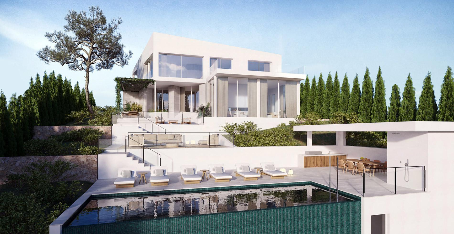 Portal Inmobiliario de Lujo en Costa d'En Blanes, presenta chalet premium venta en Mallorca, propiedades de alta gama para comprar y villas lujosas en venta en Baleares.