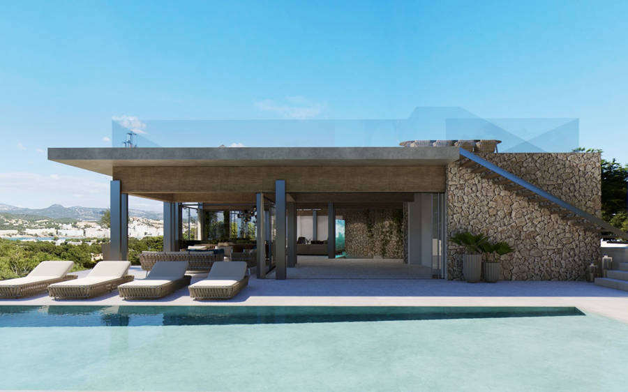Portal Inmobiliario de Lujo en Santa Ponça, presenta chalet de lujo venta en Mallorca, hogar lujoso para comprar y propiedad exclusiva en venta en Calvià.