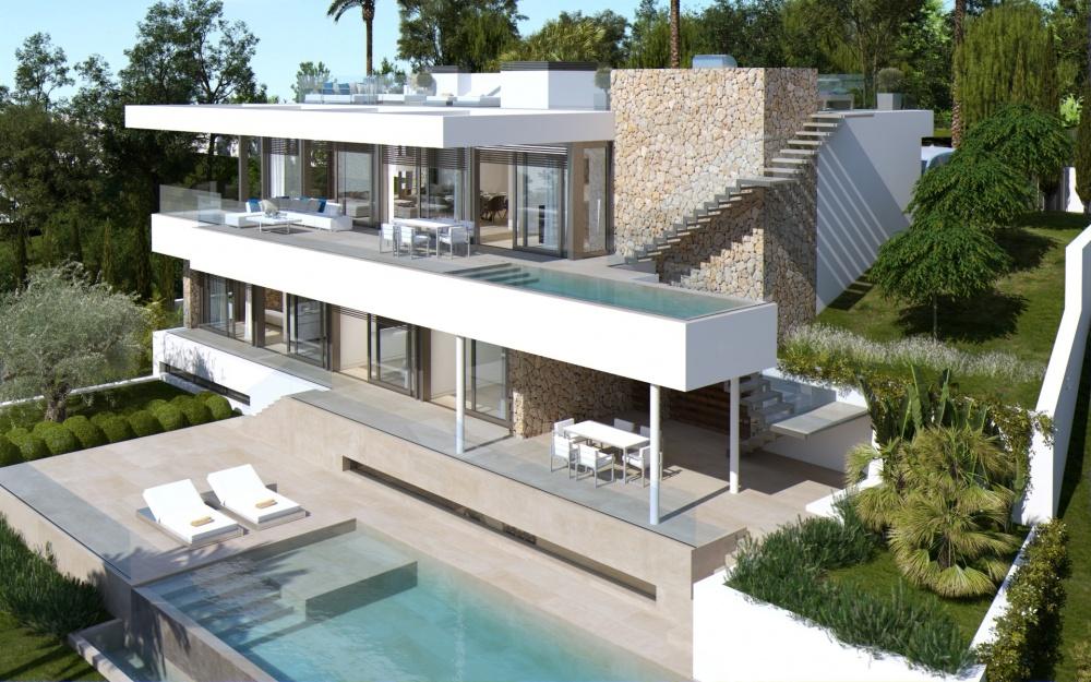 Portal Inmobiliario de Lujo en Santa Ponça, presenta chalet exclusivo venta en Mallorca, inmueble de lujo para comprar y villa moderna en venta en Calvià.